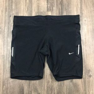 Nike Black Dri Fit Active Workout Running Shorts